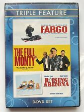 Triple Feature (Fargo / The Full Monty / Raising Arizona) Dvd Brand New / Sealed