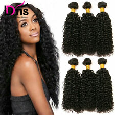 3Bundles/300g Brazilian Virgin Hair Kinky Curly 100% Human Hair Extensions Weave