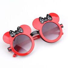 Cute Cartoon Bowknot Boys Girls Sunglasses Fashion Round Flip Shading Eyeglasses