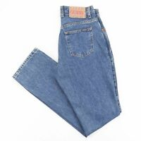 Vintage GUESS  Blue Denim Regular Bootcut Jeans Womens W27 L32