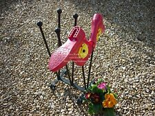 3 Pair Welly Stand  Shoe Holder  Wellies Christmas garden feature Ironwork gift
