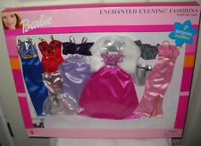 #9826 RARE NRFB Mattel Barbie 7 Gorgeous Enchanted Evening Fashion Set #68381