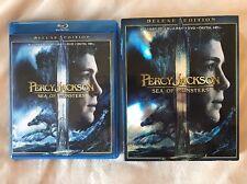 Percy Jackson:Sea of Monsters 3D 3 Disc Set (2D/3D Blu-ray/DVD/Digital)w/ Slip