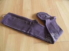 JOTTUM wunderschöne Strumpfhose Ruthmila purple m. Strass Gr. 92 NEU