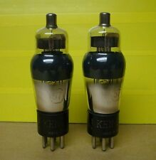 Vintage Twins / Pair of KEN-RAD  # 57 Pentode RF IF Vacuum Tubes Tested Nice