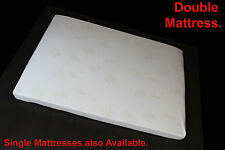 DOUBLE MATTRESS - HEAVY DENSITY FOAM WITH REMOVABLE COVER - SAVE 60% OFF RETAIL