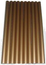 COLLA A CALDO colore: Oro 10 STRISCE ADESIVE ca. 190 GRAMMI ca.200 x 11,3 mm