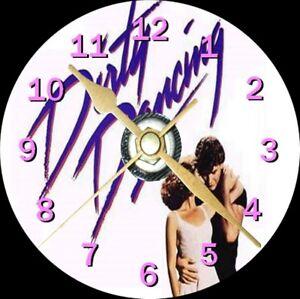 Dirty Dancing Cd Clock Can be personalised