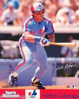 SMALL POSTER : BASEBALL: MLB : ANDRES GALARRAGA EXPOS - FREE SHIP! #6508  RP82 F