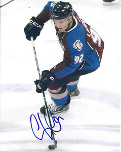 Gabriel LANDESKOG Signed COLORADO AVALANCHE 8x10 Photo