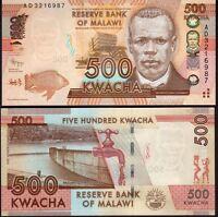 Malawi 500 Kwacha P61 2012 Mint Unc