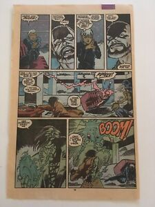 Uncanny X-Men 266 - page 19/20 only - 1st Appearance GAMBIT - Coverless