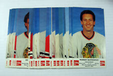 1986-87 Blackhawks Coke Hockey Set (30) Nm/Mt