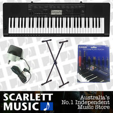 Casio CTK-3500 61 Note *CTK-3200 UPDATE* w/ Keyboard Stand + Plug & Play Pack