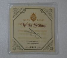 5sets german silver viola strings, KING KION viola string V122