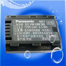 Genuine Original Panasonic VW-VBK180 Li-ion Battery SD60 TM60 HS60 SD80 HS80 H85