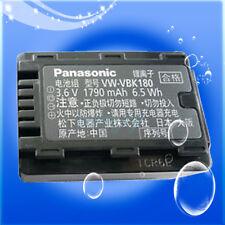 Genuine Panasonic VW-VBK180 Li-Ion Battery Pack for HDC-SD80 TM41 TM40 Camcorder