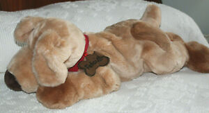 "FAO Schwarz Large 25"" Stuffed Plush Very Soft Fetch  Dog ~ EUC"