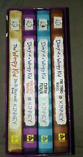 PreOwned DIARY OF A WIMPY KID BOOK SERIES-2 SETS OF 4 HARDCOVER BOOKS + 1 SINGLE