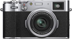 Fujifilm X100V 26.1MP 4K Digital Camera Silver