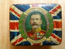 Antique Tin EARL KITCHENER OF KHARTOUM SECRETARY OF STATE FOR WAR WWI