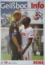 Geißbock Info 2013/14 1. FC Köln - SC Paderborn
