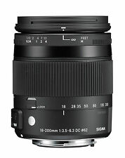 Sigma 18-200mm F3.5-6.3 Contemporary DC Macro OS HSM Lens Sony a Mount Ca2602