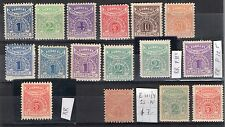 URUGUAY PARCEL POST COMPLETE ISSUES  W/ RARITIES PERFORATION VARIETY MOSTLY MNH