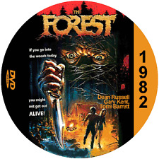 The Forest (1982) Classic Adventure and Horror 'B' Movie DVD NR