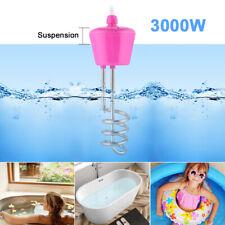 3000W Tauchsieder Reisetauchsieder Wasserkocher Pool Aufblasbar Heizspirale DHL