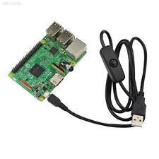 0755 USB Cable Charging Lead With Switch A/M To Micro USB 5P For Raspberry Pi