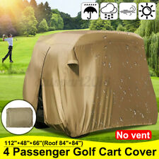 💦 4 Passenger Golf Cart Storage Cover Dust-Proof For Yamaha EZ GO Club Car New