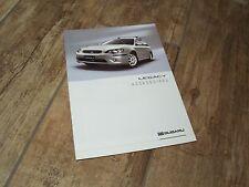 Catalogue / Brochure Accessoires SUBARU Legacy 2004  //
