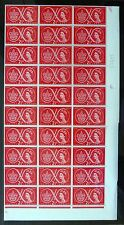 GB 1957 Scouts in Cyl Sheets of 84 or Over + Varieties on 2½d, 4d & 1/3 FP9981