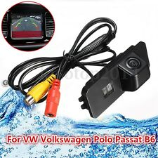 Car Reverse Rear View Camera Backup Parking Cam for VW Volkswagen Polo Passat B6