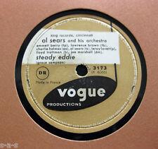 Al Sears & His Orchestra - Steady Eddie / Nell Don't Wear No... VOGUE (31)  R&B