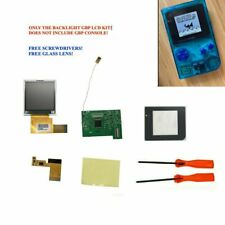 GBP Nintendo Game Boy Pocket Backlight Backlit IPS LCD Screen Mod Kit + TOOLS