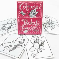 Eggnogg Colour-in Pocket Fairy Gift Tags