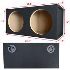 "1x Pro Dual Seal 10"" Subwoofer Enclosure Car Audio Speaker Box All Mdf"
