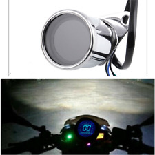 Motorcycle Odometer Speedometer Retro LCD Digital Display For Scooter ATV Meter