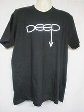 "American Apparel Black T-Shirt ""Deep""   Size XL     D10"