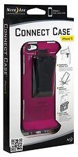Nite ize Connect Case iPhone 5 5S SE Translucent Cranberry New CNT-IP5-20TC NEW