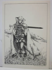 Stealer Of Souls 1974 Elric Print by Robert Gould   Scarce