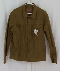 Levi Strauss & Co. Gold Label Men's Signature Trucker Jacket Rafter Brown Medium