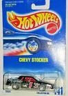 BLACK CHEVY STOCKER 1991 HOT WHEELS COLLECTOR NO. 441 STOCK CAR