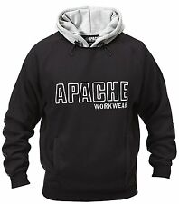 Apache Industrial Workwear Heavy Duty Hoodie Hooded Hoody Sweatshirt Jumper Top