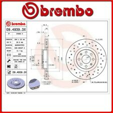 09.4939.3X#26 DISCO FRENO ANTERIORE SPORTIVO BREMBO XTRA OPEL CORSA D Van 1.3 CD