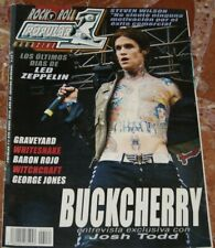 REVISTA POPULAR 1 BUCKCHERRY+IRON MAIDEN+LED ZEPPELIN+BARON ROJO+WHITESNAKE