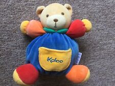 Ptit Ours Framboise Doudou Plume 18 cm 969469 Kaloo
