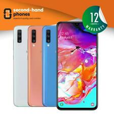 "Samsung Galaxy A70 SM-A705 (2019) 128GB Unlocked 6.7"" Android All Colours"